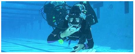 Pool Diving Scuba